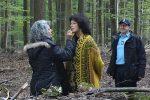 Maquillage d'Anny Duperey en forêt de Westhoffen - Vu par ICI