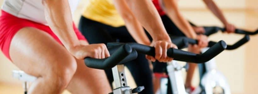 Vélo Cardio en club fitness