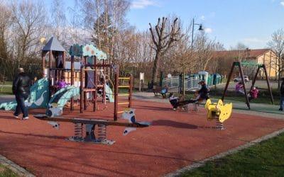 L' Aire de jeux à Westhoffen