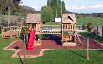 Structure de jeux à Balbronn - vuparici