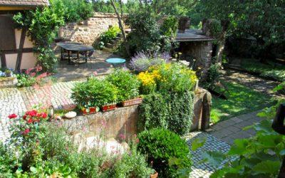 Les journées rendez-vous aux jardins à Wangen / Alsace