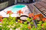 La piscine du gîte des Dix Vins à dangolsheim