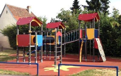 La structure de jeu de Kirchheim en Alsace - vu par ici