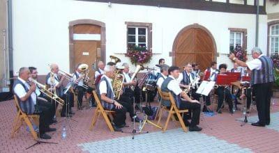 Un concert de l'Harmonie musicale Caecilia à Marlenheim