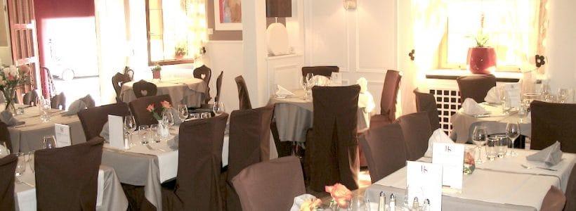 La belle salle du restaurant au Relais des Saveurs à Marlenheim