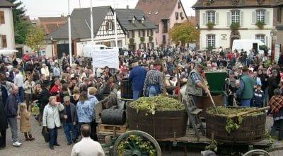 La fête des vendanges à Marlenheim