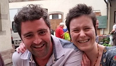 Stéphane et Laure de la ferme bio à Westhoffen