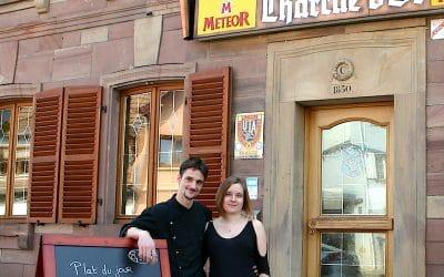 Bienvenue che patrick Schmitt et Sylvie à la Charrue d'Or à Westhoffen