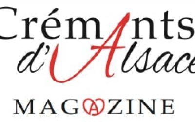 En tête du magazine Crémants d'Alsace
