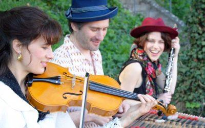 Les musiciens de Neftouli - cabaret klezmer