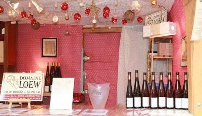 Le chalet du Domaine Loew au marché Noël de Strasbourg