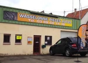 La façade de Wasselonne Pièce Auto - vuparici
