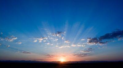 Un levé de soleil en alsace - vuparici