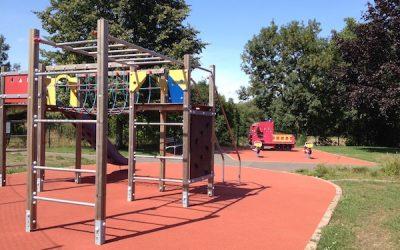 Une aire de jeu à Scharrachbergheim