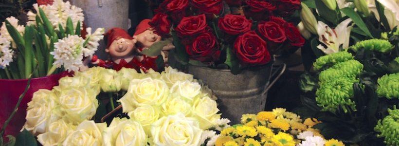 Un beau choix de rose pour ce fleuriste de Marlenheim
