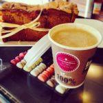 café gourmand et macaron