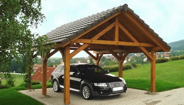 Un carport pour un abri de voiture à Wasselonne