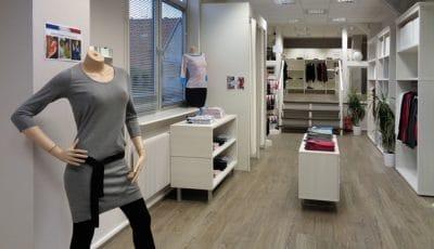 L'espace boutique du Tricotage de Marmoutier