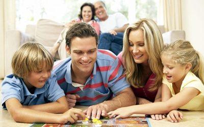 des jeux en famille
