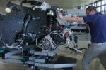 Assemblage moteur d'une Bugatti