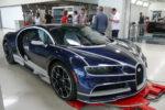 Préparation d'une Bugatti